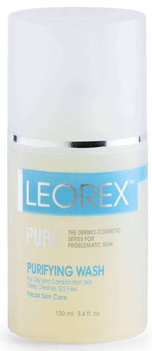 Leorex Purifying Wash Очищающий гель для жирной проблемной кожи, 100 мл7290011784198Нежный и экономный Leorex Purifying Washочищает кожу любого типа. К тому же, после его применения быстро появляется румянец, а сама кожа стает мягкой и шелковистой. Нормализуется работа сальных желез, что, в свою очередь, предотвращает появление чёрных точек. После умывания лицо становится гладким, а мелкие морщинки выравниваются. Таким образом, регулярное применение геля оказывает очищающее и омолаживающее действие. Гель содержит в себе моющую основу растительного происхождения и прошёл требуемый дерматологический контроль. Снятие макияжа и очищение кожи с помощью геля позволит насытить дерму ценными микроэлементами, минералами и витаминами, вернуть ей тонус, снять напряжение и успокоить. Поэтому, если ваше лицо имеет склонность к покраснениям, то, пользуясь гелем, вы сможете надолго забыть об этом неприятном моменте. Способ применения: на влажную кожу нанести немного геля, затем обильно смыть водой. Данное средство подходит для любого типа кожи.