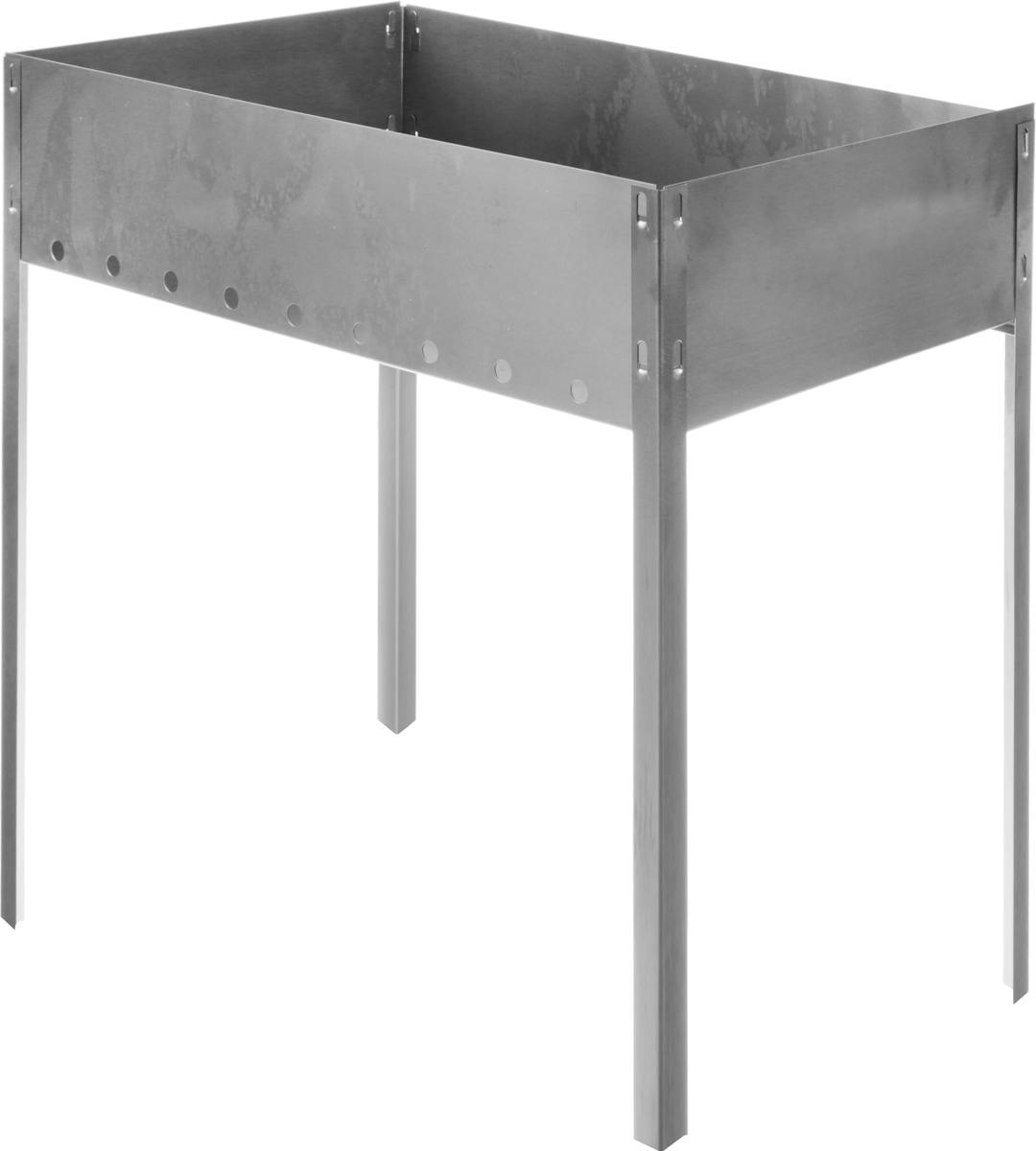 Мангал складной RoyalGrill, 50 х 30 см80-045Складной мангал RoyalGrill является необходимым устройством для приготовления вкусного шашлыка на свежем воздухе. Изделие выполнено из стали.Представляя собой эффектную установку, мангал является и декоративный элементом, изумительно вписывающимся в ландшафт, и средством для приготовления горячих блюд на открытой площадке.