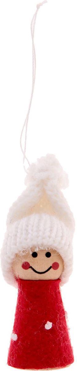 Украшение новогоднее подвесное Sima-land Крошка, 2,5 см х 2,5 см х 7,5 см свеча ароматизированная sima land лимон на подставке высота 6 см