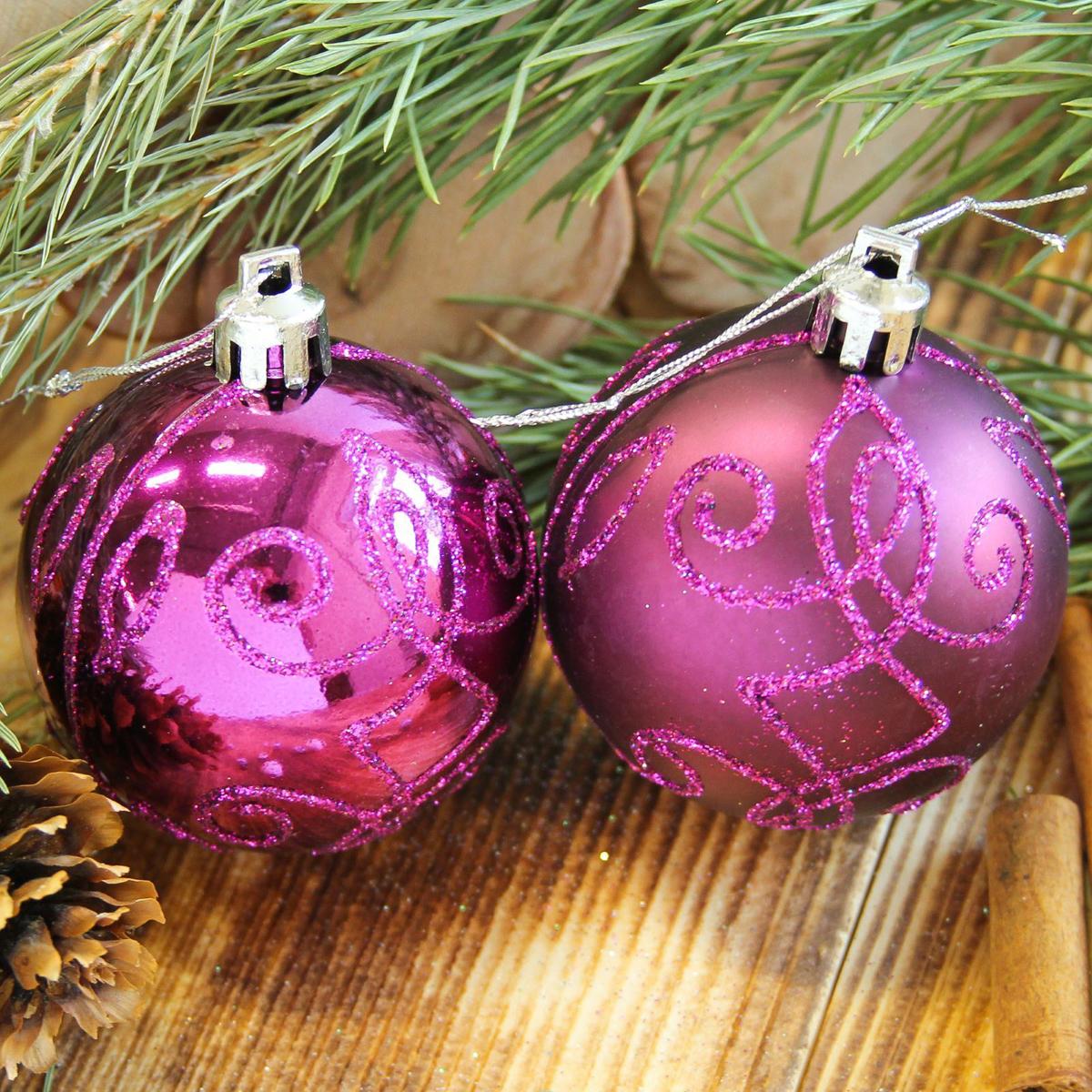 Набор новогодних подвесных украшений Sima-land Узорный, диаметр 6 см, 8 шт2122528Набор новогодних подвесных украшений Sima-land отлично подойдет для декорации вашего дома и новогодней ели. С помощью специальной петельки украшение можно повесить в любом понравившемся вам месте. Но, конечно, удачнее всего оно будет смотреться на праздничной елке. Елочная игрушка - символ Нового года. Она несет в себе волшебство и красоту праздника. Создайте в своем доме атмосферу веселья и радости, украшая новогоднюю елку нарядными игрушками, которые будут из года в год накапливать теплоту воспоминаний.