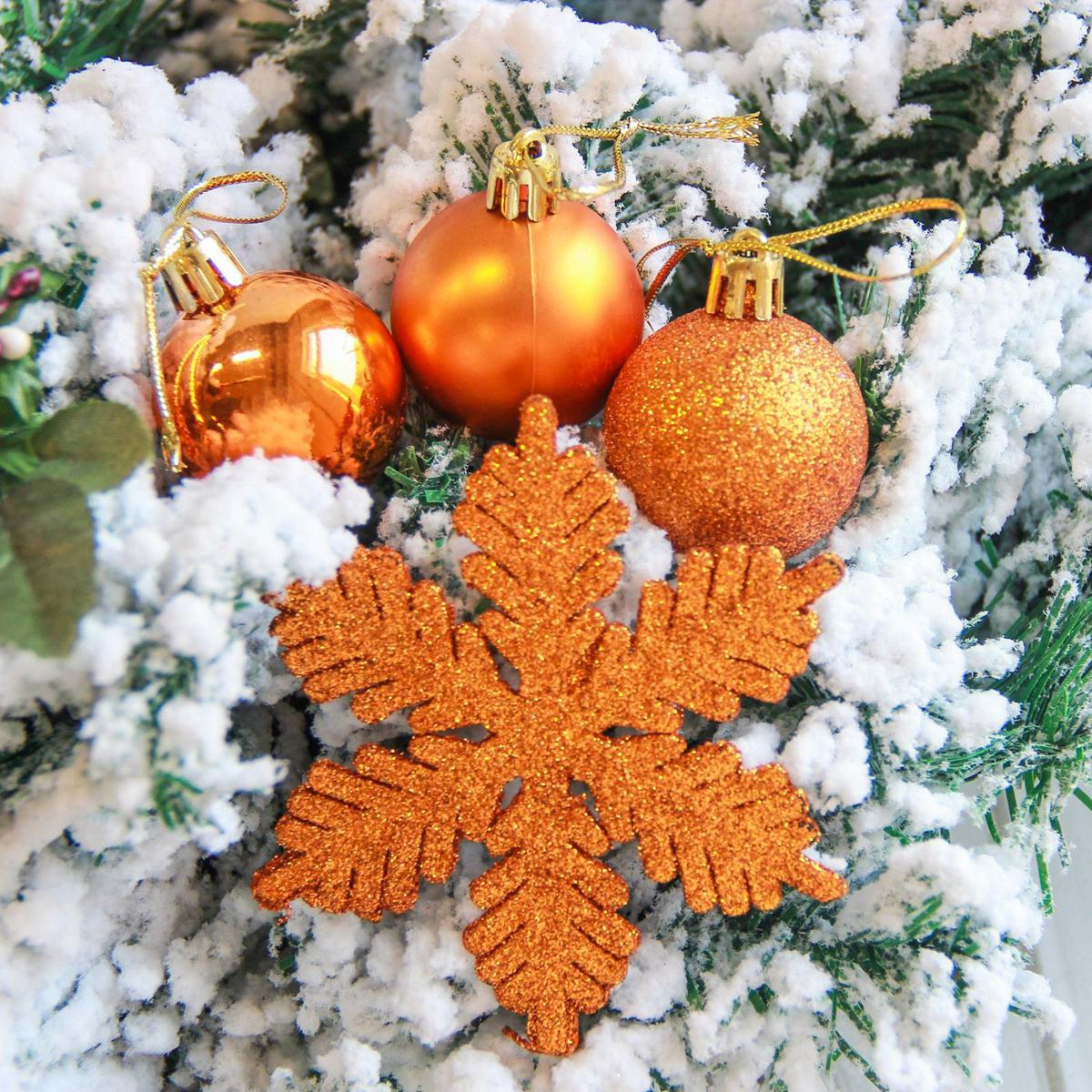 Набор новогодних подвесных украшений Sima-land Снежинка, 24 шт. 21229002122900Невозможно представить нашу жизнь без праздников! Мы всегда ждём их и предвкушаем, обдумываем, как проведём памятный день, тщательно выбираем подарки и аксессуары, ведь именно они создают и поддерживают торжественный настрой.
