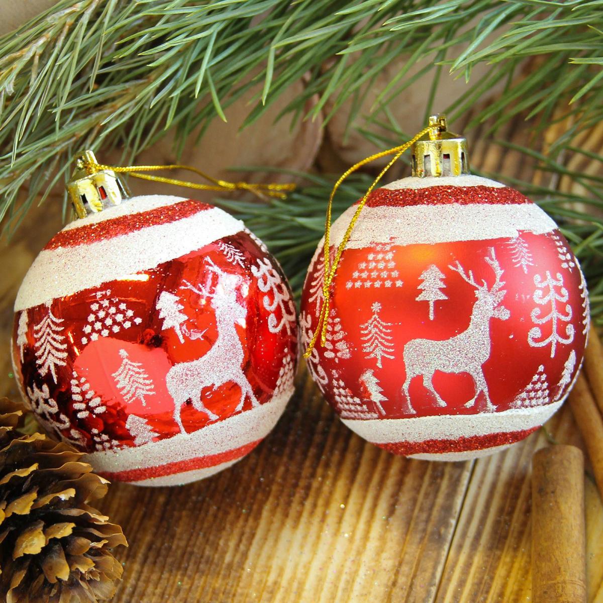 Набор новогодних подвесных украшений Sima-land Скандинавия, диаметр 6 см, 8 шт2122930Набор новогодних подвесных украшений Sima-land отлично подойдет для декорации вашего дома и новогодней ели. С помощью специальной петельки украшение можно повесить в любом понравившемся вам месте. Но, конечно, удачнее всего оно будет смотреться на праздничной елке. Елочная игрушка - символ Нового года. Она несет в себе волшебство и красоту праздника. Создайте в своем доме атмосферу веселья и радости, украшая новогоднюю елку нарядными игрушками, которые будут из года в год накапливать теплоту воспоминаний.