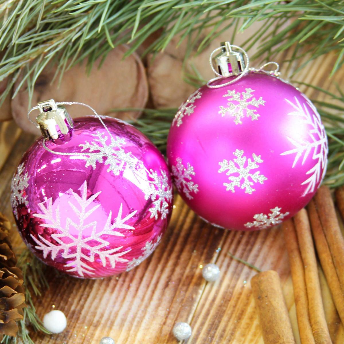 Набор новогодних подвесных украшений Sima-land Снегопад, диаметр 6 см, 8 шт2122953Невозможно представить нашу жизнь без праздников! Мы всегда ждём их и предвкушаем, обдумываем, как проведём памятный день, тщательно выбираем подарки и аксессуары, ведь именно они создают и поддерживают торжественный настрой.