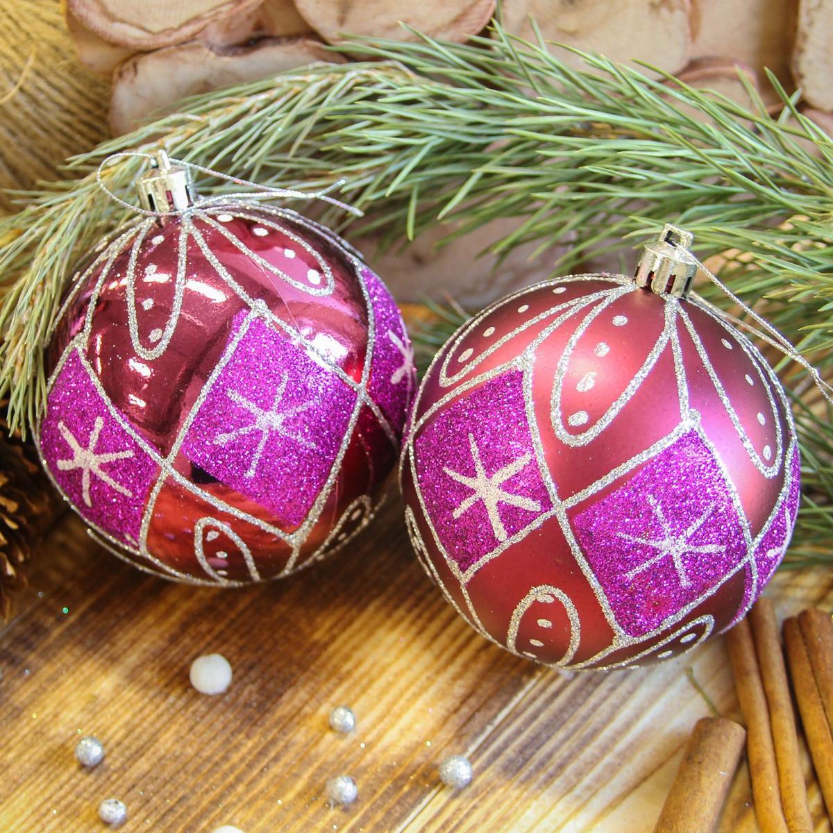 Набор новогодних подвесных украшений Sima-land Ночь, диаметр 8 см, 6 шт2122969Набор новогодних подвесных украшений Sima-land отлично подойдет для декорации вашего дома и новогодней ели. С помощью специальной петельки украшение можно повесить в любом понравившемся вам месте. Но, конечно, удачнее всего оно будет смотреться на праздничной елке. Елочная игрушка - символ Нового года. Она несет в себе волшебство и красоту праздника. Создайте в своем доме атмосферу веселья и радости, украшая новогоднюю елку нарядными игрушками, которые будут из года в год накапливать теплоту воспоминаний.