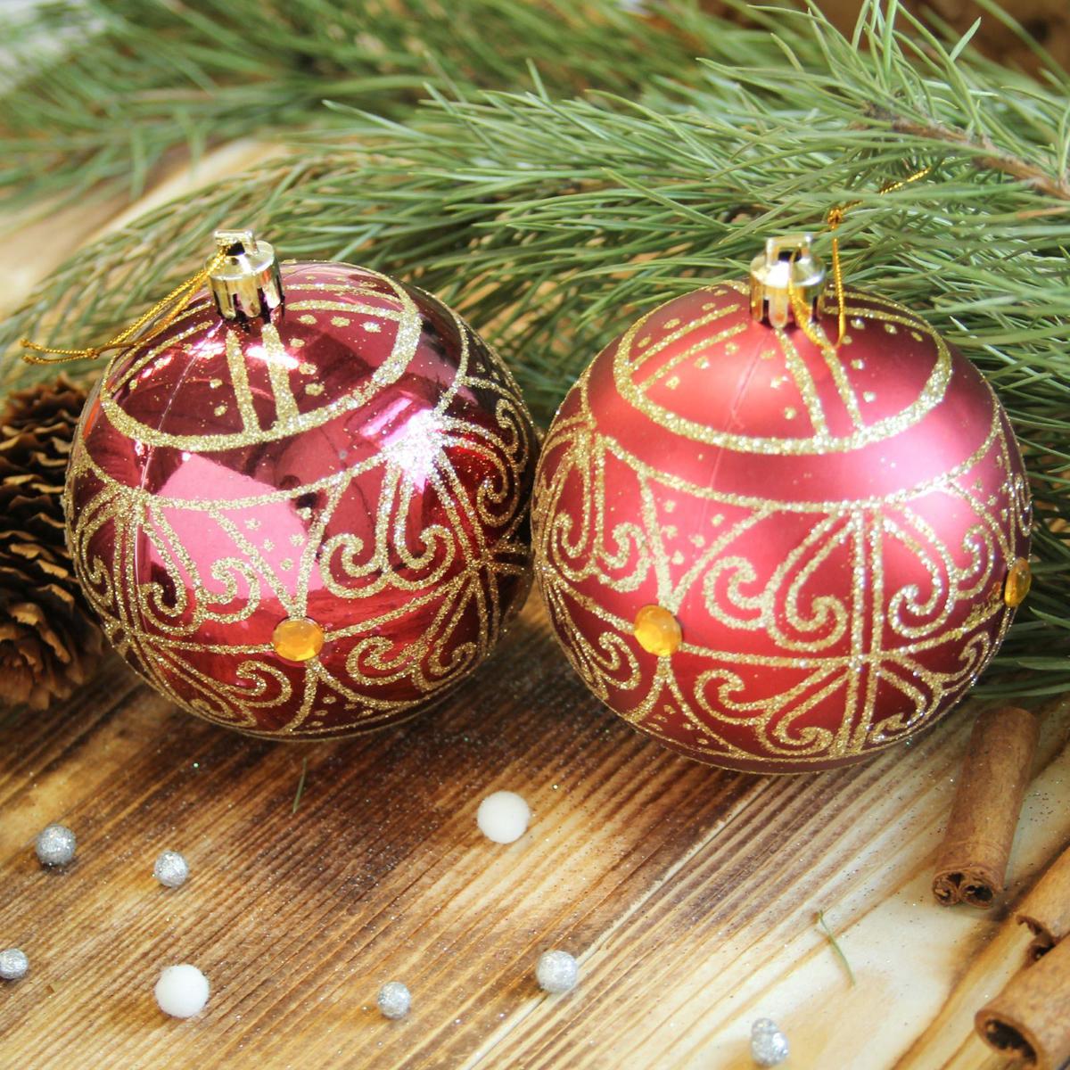 Набор новогодних подвесных украшений Sima-land Восточный узор, диаметр 8 см, 6 шт2122970Набор новогодних подвесных украшений Sima-land отлично подойдет для декорации вашего дома и новогодней ели. С помощью специальной петельки украшение можно повесить в любом понравившемся вам месте. Но, конечно, удачнее всего оно будет смотреться на праздничной елке. Елочная игрушка - символ Нового года. Она несет в себе волшебство и красоту праздника. Создайте в своем доме атмосферу веселья и радости, украшая новогоднюю елку нарядными игрушками, которые будут из года в год накапливать теплоту воспоминаний.