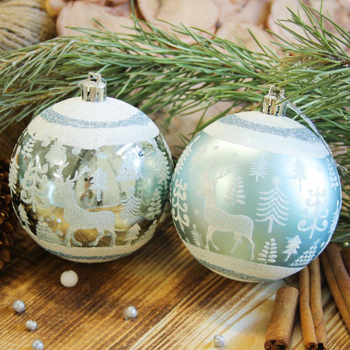 Набор новогодних подвесных украшений Sima-land Скандинавия, диаметр 8 см, 6 шт2122971Набор новогодних подвесных украшений Sima-land отлично подойдет для декорации вашего дома и новогодней ели. С помощью специальной петельки украшение можно повесить в любом понравившемся вам месте. Но, конечно, удачнее всего оно будет смотреться на праздничной елке. Елочная игрушка - символ Нового года. Она несет в себе волшебство и красоту праздника. Создайте в своем доме атмосферу веселья и радости, украшая новогоднюю елку нарядными игрушками, которые будут из года в год накапливать теплоту воспоминаний.