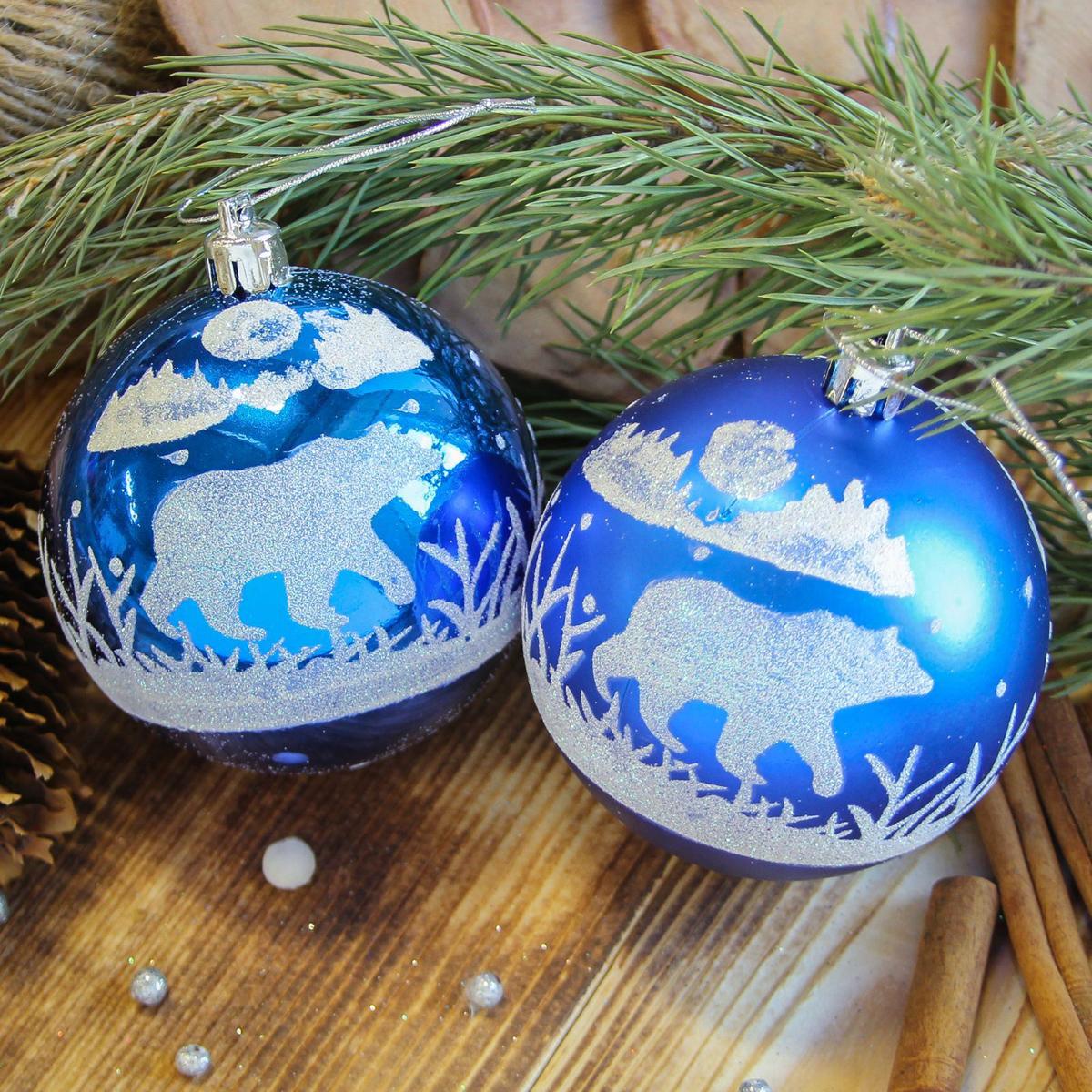 Набор новогодних подвесных украшений Sima-land Северный мишка, диаметр 8 см, 6 шт2122973Набор новогодних подвесных украшений Sima-land отлично подойдет для декорации вашего дома и новогодней ели. С помощью специальной петельки украшение можно повесить в любом понравившемся вам месте. Но, конечно, удачнее всего оно будет смотреться на праздничной елке. Елочная игрушка - символ Нового года. Она несет в себе волшебство и красоту праздника. Создайте в своем доме атмосферу веселья и радости, украшая новогоднюю елку нарядными игрушками, которые будут из года в год накапливать теплоту воспоминаний.