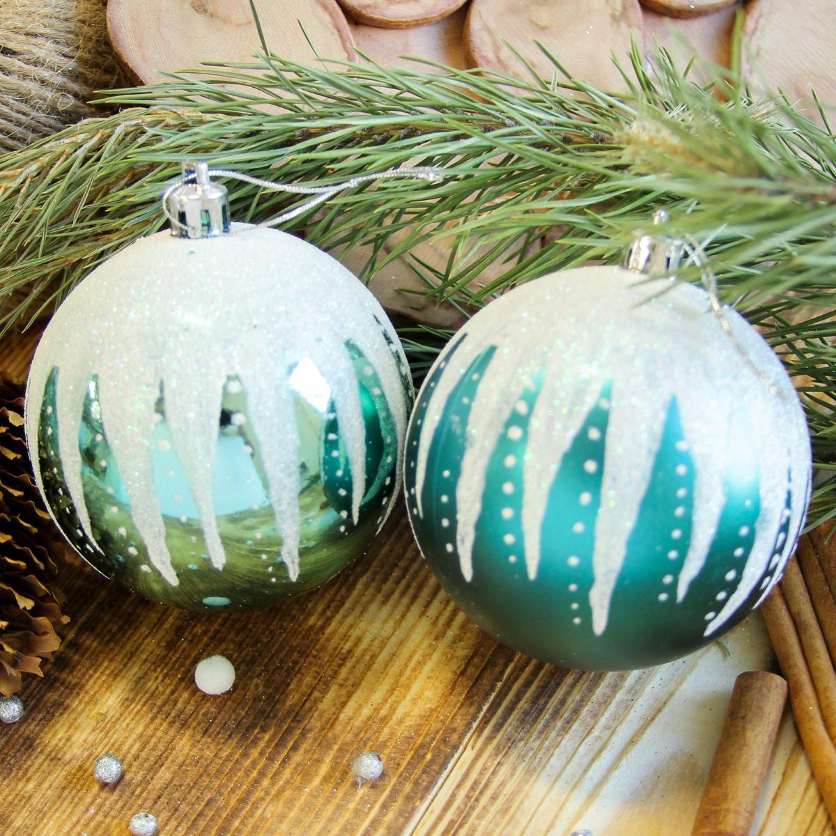Набор новогодних подвесных украшений Sima-land Иней, диаметр 8 см, 6 шт. 21229752122975Набор новогодних подвесных украшений Sima-land отлично подойдет для декорации вашего дома и новогодней ели. С помощью специальной петельки украшение можно повесить в любом понравившемся вам месте. Но, конечно, удачнее всего оно будет смотреться на праздничной елке. Елочная игрушка - символ Нового года. Она несет в себе волшебство и красоту праздника. Создайте в своем доме атмосферу веселья и радости, украшая новогоднюю елку нарядными игрушками, которые будут из года в год накапливать теплоту воспоминаний.