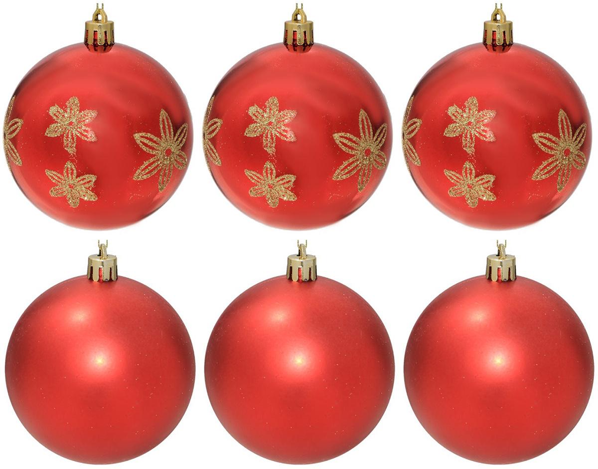 Набор новогодних подвесных украшений Sima-land Гранд. Цветочки, диаметр 8 см, 6 шт2131397Набор новогодних подвесных украшений Sima-land отлично подойдет для декорации вашего дома и новогодней ели. С помощью специальной петельки украшение можно повесить в любом понравившемся вам месте. Но, конечно, удачнее всего оно будет смотреться на праздничной елке. Елочная игрушка - символ Нового года. Она несет в себе волшебство и красоту праздника. Создайте в своем доме атмосферу веселья и радости, украшая новогоднюю елку нарядными игрушками, которые будут из года в год накапливать теплоту воспоминаний.