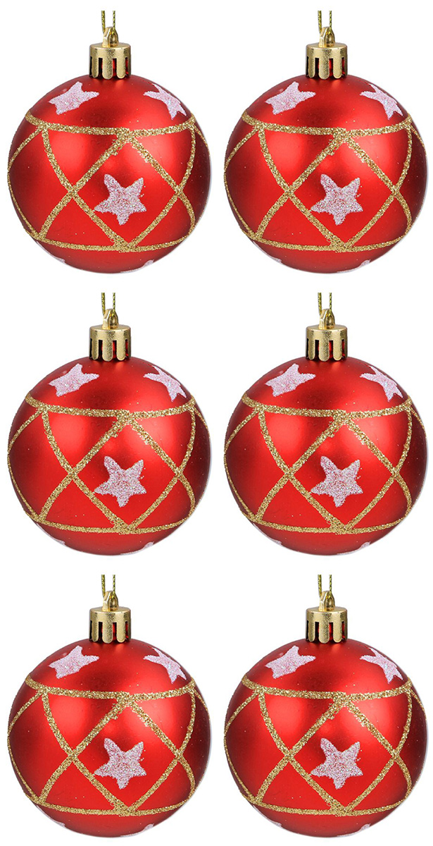 Набор новогодних подвесных украшений Sima-land Гранд. Матовые звезды, диаметр 6 см, 6 шт2131413Набор новогодних подвесных украшений Sima-land отлично подойдет для декорации вашего дома и новогодней ели. С помощью специальной петельки украшение можно повесить в любом понравившемся вам месте. Но, конечно, удачнее всего оно будет смотреться на праздничной елке. Елочная игрушка - символ Нового года. Она несет в себе волшебство и красоту праздника. Создайте в своем доме атмосферу веселья и радости, украшая новогоднюю елку нарядными игрушками, которые будут из года в год накапливать теплоту воспоминаний.