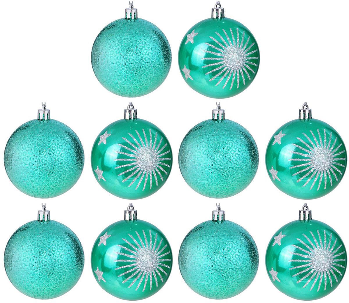 Набор новогодних подвесных украшений Sima-land Изумрудик. Звезды, диаметр 8 см, 12 шт2131467Набор новогодних подвесных украшений Sima-land отлично подойдет для декорации вашего дома и новогодней ели. С помощью специальной петельки украшение можно повесить в любом понравившемся вам месте. Но, конечно, удачнее всего оно будет смотреться на праздничной елке. Елочная игрушка - символ Нового года. Она несет в себе волшебство и красоту праздника. Создайте в своем доме атмосферу веселья и радости, украшая новогоднюю елку нарядными игрушками, которые будут из года в год накапливать теплоту воспоминаний.