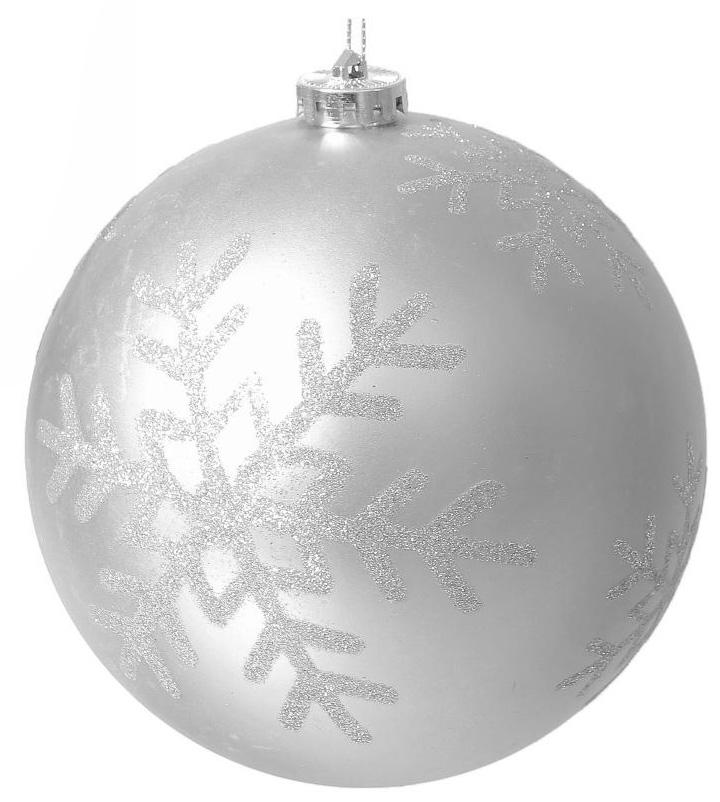 Новогоднее подвесное украшение Sima-land Снежинка, цвет: серебристый, диаметр 15 см2137133Новогоднее подвесное украшение Sima-land отлично подойдет для декорации вашего дома и новогодней ели. Новогоднее украшение можно повесить в любом понравившемся вам месте. Но, конечно, удачнее всего оно будет смотреться на праздничной елке.Елочная игрушка - символ Нового года. Она несет в себе волшебство и красоту праздника. Такое украшение создаст в вашем доме атмосферу праздника, веселья и радости.