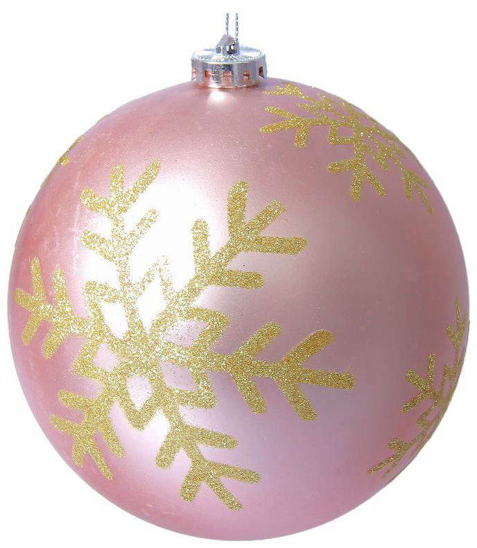 Новогоднее подвесное украшение Sima-land Снежинка, цвет: розовый, диаметр 15 см2137134Новогоднее подвесное украшение Sima-land отлично подойдет для декорации вашего дома и новогодней ели. Новогоднее украшение можно повесить в любом понравившемся вам месте. Но, конечно, удачнее всего оно будет смотреться на праздничной елке.Елочная игрушка - символ Нового года. Она несет в себе волшебство и красоту праздника. Такое украшение создаст в вашем доме атмосферу праздника, веселья и радости.