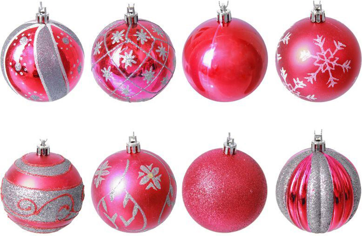 Набор новогодних подвесных украшений Sima-land Леда, диаметр 7 см, 9 шт. 21372032137203Набор новогодних подвесных украшений Sima-land отлично подойдет для декорации вашего дома и новогодней ели. С помощью специальной петельки украшение можно повесить в любом понравившемся вам месте. Но, конечно, удачнее всего оно будет смотреться на праздничной елке. Елочная игрушка - символ Нового года. Она несет в себе волшебство и красоту праздника. Создайте в своем доме атмосферу веселья и радости, украшая новогоднюю елку нарядными игрушками, которые будут из года в год накапливать теплоту воспоминаний.