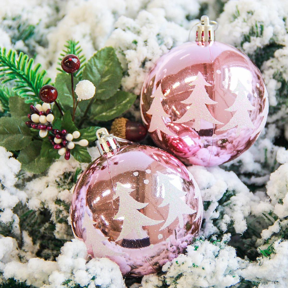 Набор новогодних подвесных украшений Sima-land Елочки, диаметр 8 см, 6 шт. 21781902178190Набор новогодних подвесных украшений Sima-land отлично подойдет для декорации вашего дома и новогодней ели. С помощью специальной петельки украшение можно повесить в любом понравившемся вам месте. Но, конечно, удачнее всего оно будет смотреться на праздничной елке. Елочная игрушка - символ Нового года. Она несет в себе волшебство и красоту праздника. Создайте в своем доме атмосферу веселья и радости, украшая новогоднюю елку нарядными игрушками, которые будут из года в год накапливать теплоту воспоминаний.