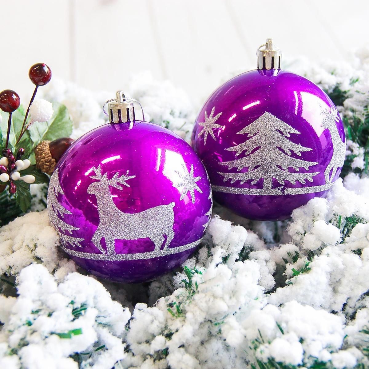 Набор новогодних подвесных украшений Sima-land Гордый олень, диаметр 8 см, 6 шт. 21781962178196Невозможно представить нашу жизнь без праздников! Мы всегда ждём их и предвкушаем, обдумываем, как проведём памятный день, тщательно выбираем подарки и аксессуары, ведь именно они создают и поддерживают торжественный настрой.