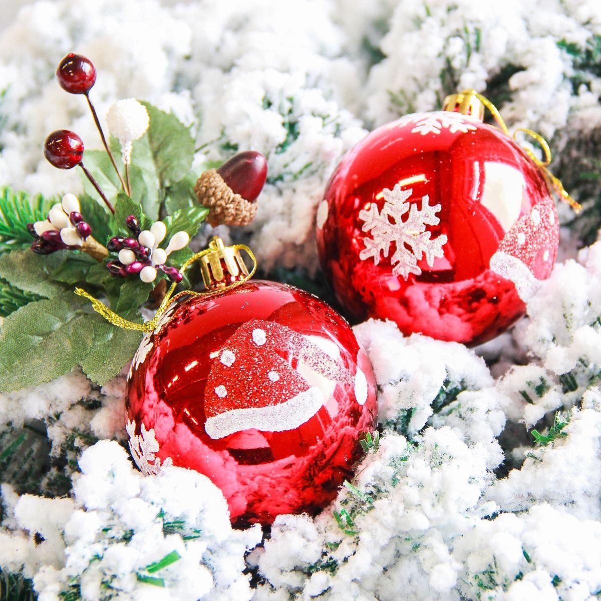 Набор новогодних подвесных украшений Sima-land Колпачок, диаметр 7 см, 6 шт2178203Набор новогодних подвесных украшений Sima-land отлично подойдет для декорации вашего дома и новогодней ели. С помощью специальной петельки украшение можно повесить в любом понравившемся вам месте. Но, конечно, удачнее всего оно будет смотреться на праздничной елке. Елочная игрушка - символ Нового года. Она несет в себе волшебство и красоту праздника. Создайте в своем доме атмосферу веселья и радости, украшая новогоднюю елку нарядными игрушками, которые будут из года в год накапливать теплоту воспоминаний.