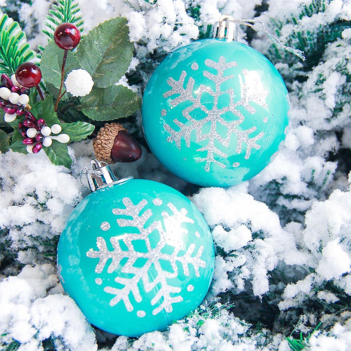Набор новогодних подвесных украшений Sima-land Снежинка. Капель, цвет: голубой, диаметр 7 см, 6 шт2178211Набор новогодних подвесных украшений Sima-land отлично подойдет для декорации вашего дома и новогодней ели. С помощью специальной петельки украшение можно повесить в любом понравившемся вам месте. Но, конечно, удачнее всего оно будет смотреться на праздничной елке. Елочная игрушка - символ Нового года. Она несет в себе волшебство и красоту праздника. Создайте в своем доме атмосферу веселья и радости, украшая новогоднюю елку нарядными игрушками, которые будут из года в год накапливать теплоту воспоминаний.