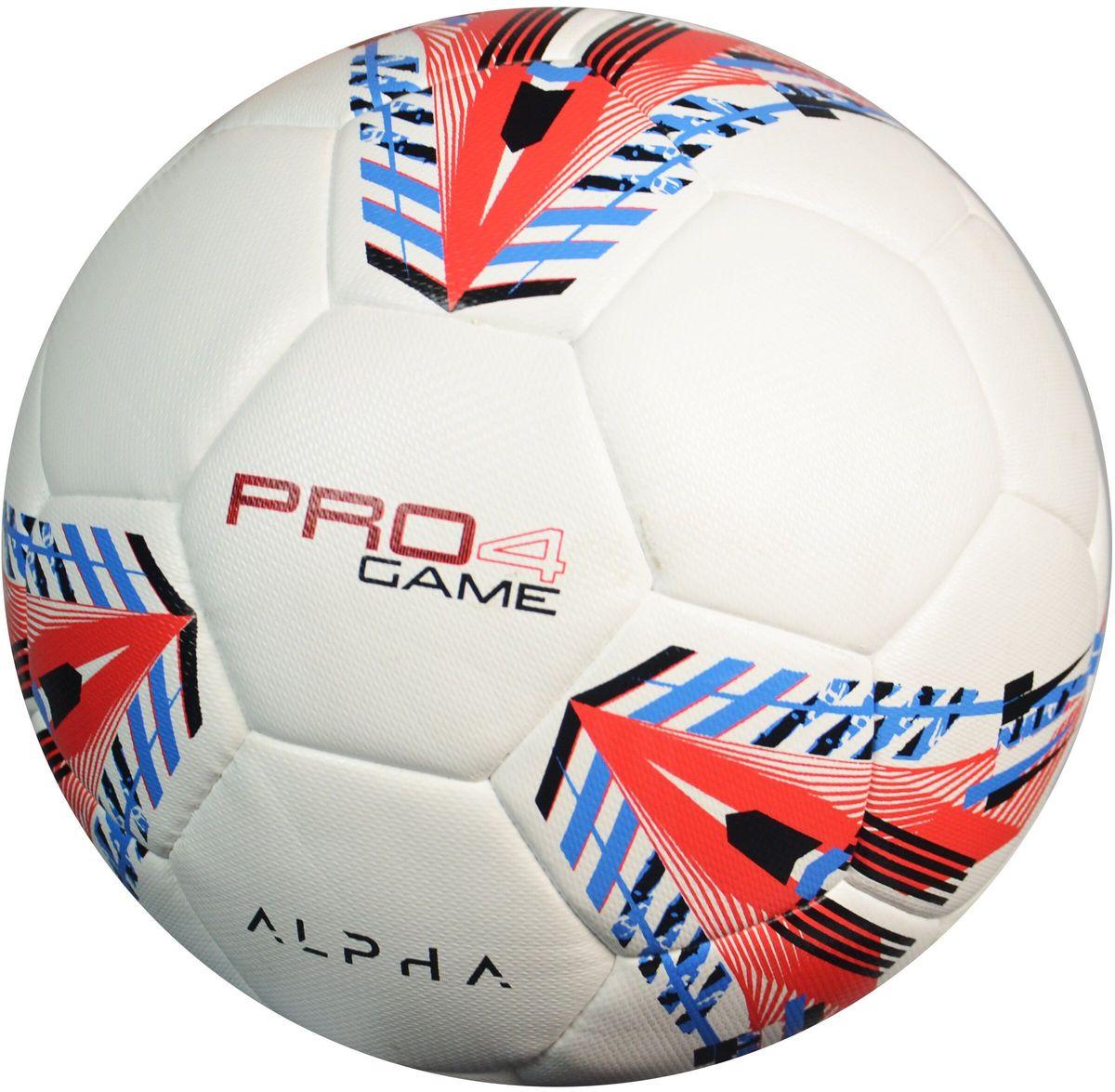 Мяч футбольный AlphaKepeers ProGame, цвет: белый, красный, Размер 4. 83017 С483017 С4Детский футбольный мяч AlphaKeepers произведен по технологии DuoTech (технология высокотемпературного спаивания панелей), обладает долговечностью и нулевой гигроскопичностью. Технические характеристики:Размер: 4.Вес: 360-370 г. Диаметр: 635-660 мм. Рекомендуемое давление: 0.6-0.8 бар.