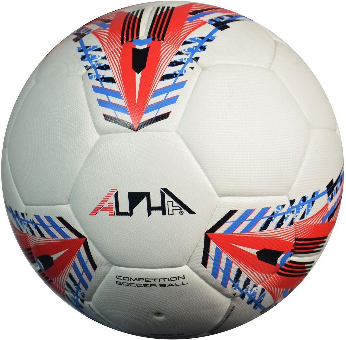 Мяч футбольный AlphaKepeers ProGame, цвет: белый, красный. Размер 5. 83017 С583017 С5Футбольный мяч AlphaKeepers произведен по технологии DuoTech (технология высокотемпературного спаивания панелей), обладает долговечностью и нулевой гигроскопичностью. Технические характеристики:Размер: 5.Вес: 370-380 г. Диаметр: 635-660 мм. Рекомендуемое давление: 0.6-0.8 бар.