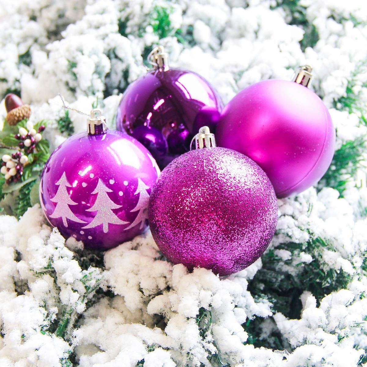 Набор новогодних подвесных украшений Sima-land Елочки, диаметр 8 см, 6 шт. 21782922178292Набор новогодних подвесных украшений Sima-land отлично подойдет для декорации вашего дома и новогодней ели. С помощью специальной петельки украшение можно повесить в любом понравившемся вам месте. Но, конечно, удачнее всего оно будет смотреться на праздничной елке. Елочная игрушка - символ Нового года. Она несет в себе волшебство и красоту праздника. Создайте в своем доме атмосферу веселья и радости, украшая новогоднюю елку нарядными игрушками, которые будут из года в год накапливать теплоту воспоминаний.