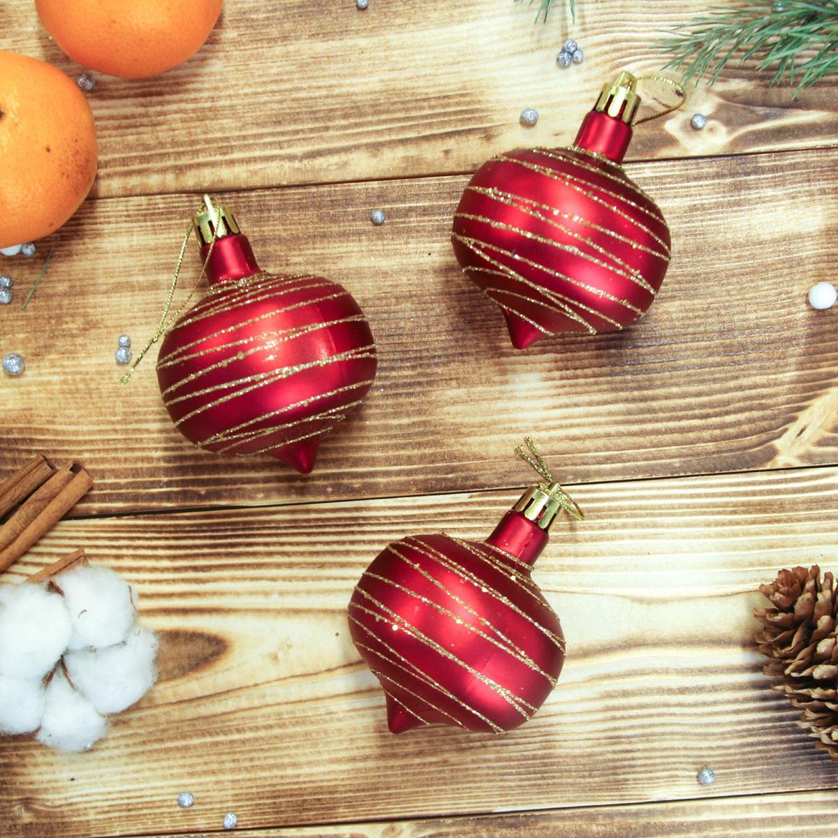 Украшение новогоднее елочное Sima-land Юла, 6 см, 6 см2372188Невозможно представить нашу жизнь без праздников! Мы всегда ждём их и предвкушаем, обдумываем, как проведём памятный день, тщательно выбираем подарки и аксессуары, ведь именно они создают и поддерживают торжественный настрой.