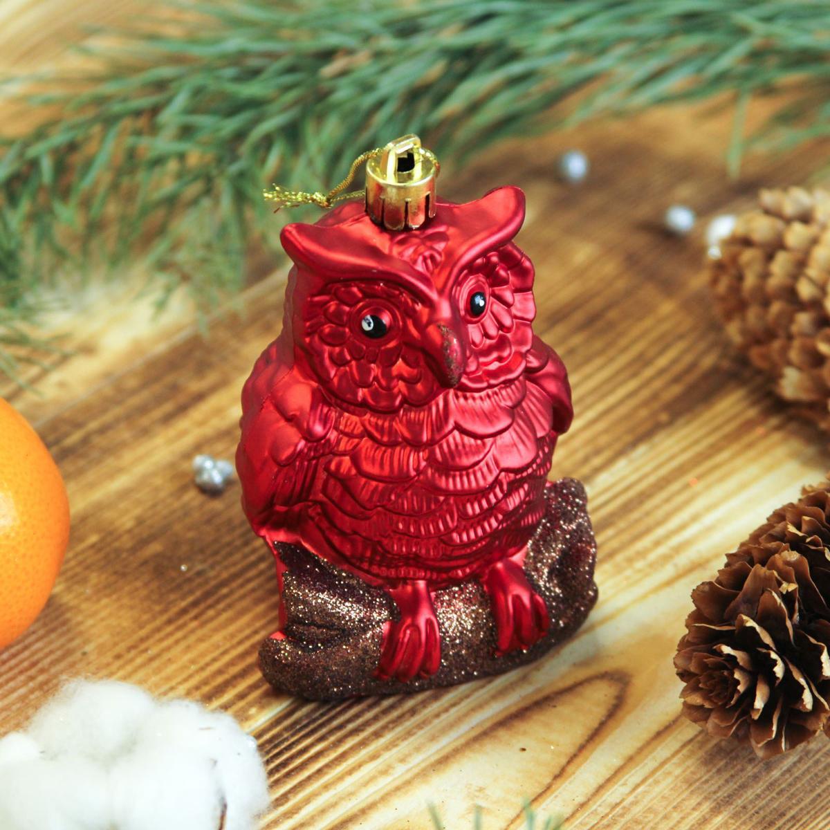 Набор новогодних подвесных украшений Sima-land Совята, 5,5 х 7,5 см, 2 шт. 23722002372200Набор новогодних подвесных украшений Sima-land отлично подойдет для декорации вашего дома и новогодней ели. Новогодние украшения можно повесить в любом понравившемся вам месте. Но, конечно, удачнее всего они будет смотреться на праздничной елке.Елочная игрушка - символ Нового года. Она несет в себе волшебство и красоту праздника. Такое украшение создаст в вашем доме атмосферу праздника, веселья и радости.