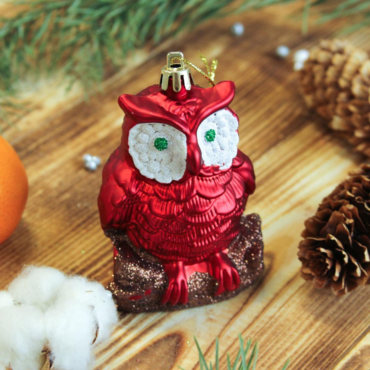 Набор новогодних подвесных украшений Sima-land Совята, 5,5 х 7,5 см, 2 шт. 23722012372201Набор новогодних подвесных украшений Sima-land отлично подойдет для декорации вашего дома и новогодней ели. Новогодние украшения можно повесить в любом понравившемся вам месте. Но, конечно, удачнее всего они будет смотреться на праздничной елке.Елочная игрушка - символ Нового года. Она несет в себе волшебство и красоту праздника. Такое украшение создаст в вашем доме атмосферу праздника, веселья и радости.