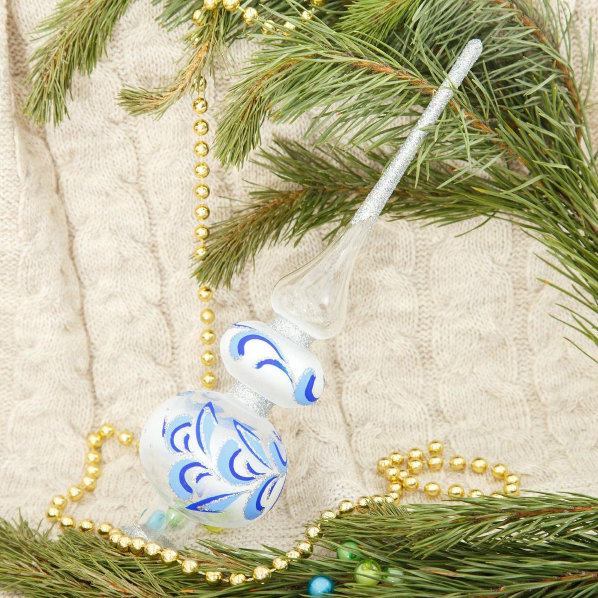 Макушка на елку Ёлочка Праздничная, 27,5 см2564807Невозможно представить нашу жизнь без праздников! Мы всегда ждём их и предвкушаем, обдумываем, как проведём памятный день, тщательно выбираем подарки и аксессуары, ведь именно они создают и поддерживают торжественный настрой.