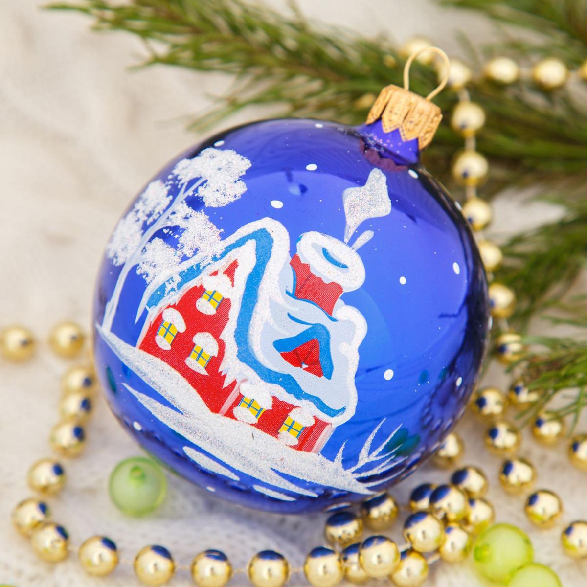 Украшение новогоднее елочное Ёлочка Вьюга, диаметр 7,5 см2564834Невозможно представить нашу жизнь без праздников! Мы всегда ждём их и предвкушаем, обдумываем, как проведём памятный день, тщательно выбираем подарки и аксессуары, ведь именно они создают и поддерживают торжественный настрой.