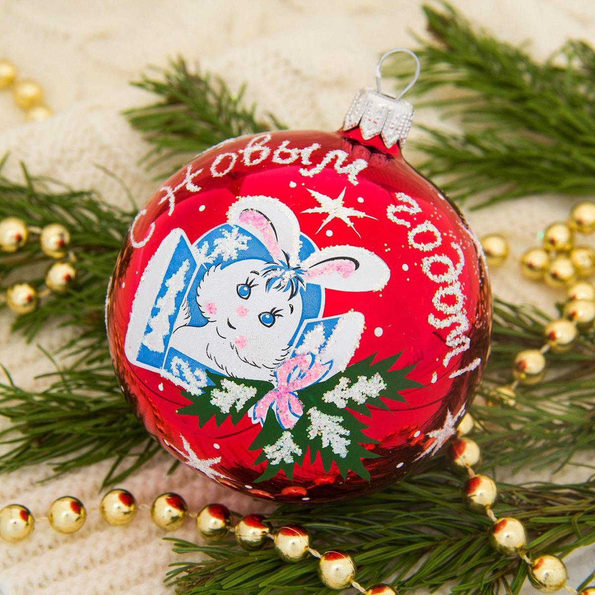 Новогоднее подвесное украшение Ёлочка Степашка, диаметр 7,5 см2564836Новогоднее подвесное украшение Ёлочка отлично подойдет для декорации вашего дома и новогодней ели. Новогоднее украшение можно повесить в любом понравившемся вам месте. Но, конечно, удачнее всего оно будет смотреться на праздничной елке.Елочная игрушка - символ Нового года. Она несет в себе волшебство и красоту праздника. Такое украшение создаст в вашем доме атмосферу праздника, веселья и радости.