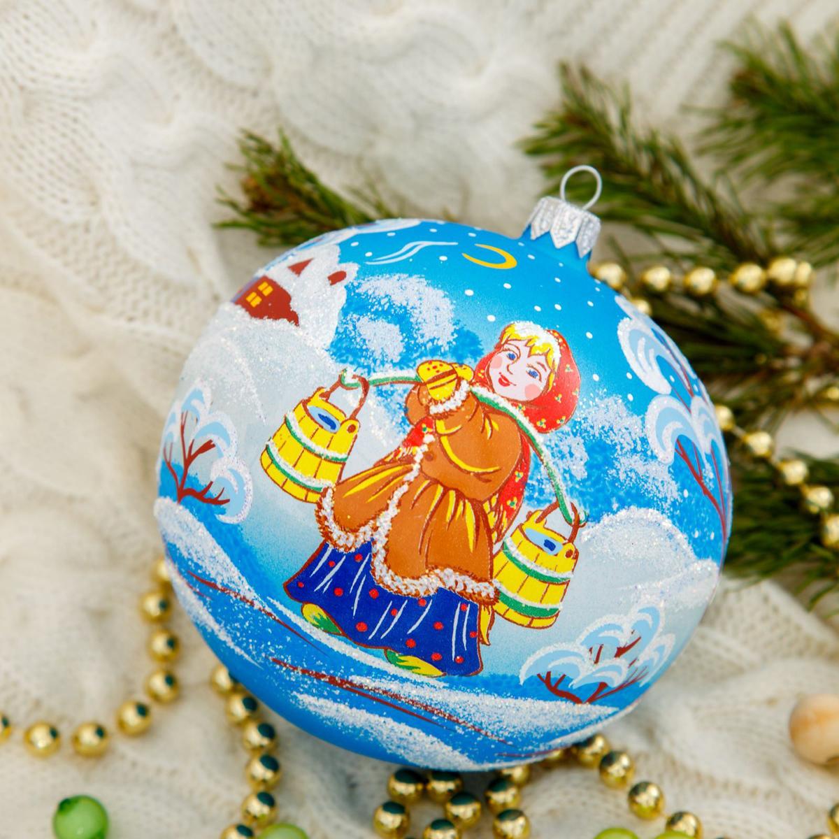 Новогоднее подвесное украшение Ёлочка Аленушка, диаметр 11,5 см2564838Новогоднее подвесное украшение Ёлочка отлично подойдет для декорации вашего дома и новогодней ели. Новогоднее украшение можно повесить в любом понравившемся вам месте. Но, конечно, удачнее всего оно будет смотреться на праздничной елке.Елочная игрушка - символ Нового года. Она несет в себе волшебство и красоту праздника. Такое украшение создаст в вашем доме атмосферу праздника, веселья и радости.