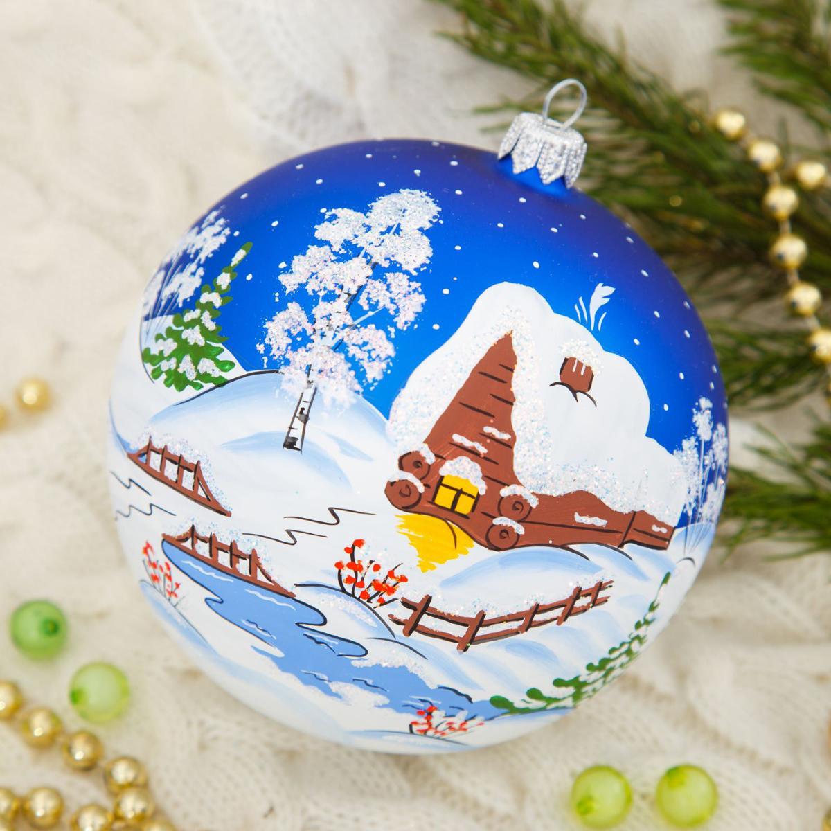 Новогоднее подвесное украшение Ёлочка Русская Зима, диаметр 11,5 см2564839Новогоднее подвесное украшение Ёлочка отлично подойдет для декорации вашего дома и новогодней ели. Новогоднее украшение можно повесить в любом понравившемся вам месте. Но, конечно, удачнее всего оно будет смотреться на праздничной елке.Елочная игрушка - символ Нового года. Она несет в себе волшебство и красоту праздника. Такое украшение создаст в вашем доме атмосферу праздника, веселья и радости.
