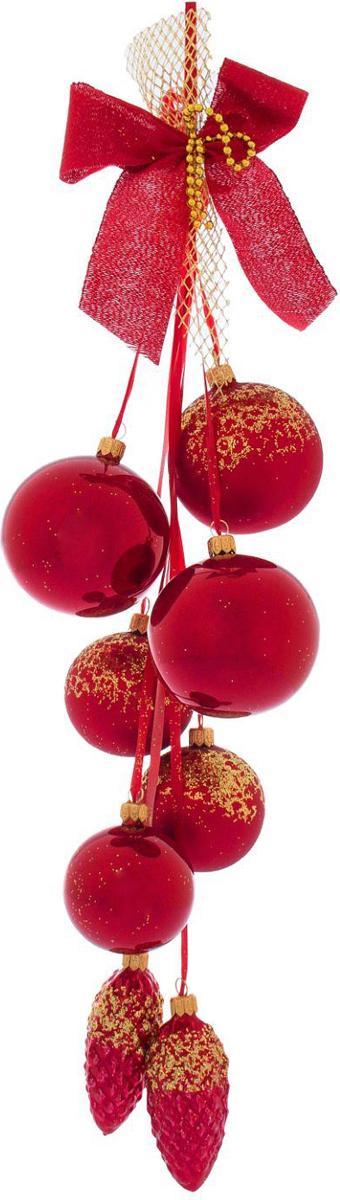 Украшение новогоднее подвесное Ёлочка Алая, 35 х 9,5 х 25 см2564858Украшение новогоднее подвесное Ёлочка, выполненное из стекла, отлично подойдет для декорации вашего дома и новогодней ели.Невозможно представить жизнь без праздников! Все их ждут и предвкушают, обдумывают, как проведут памятный день, тщательно выбирают подарки и аксессуары, ведь именно они создают и поддерживают торжественный настрой.