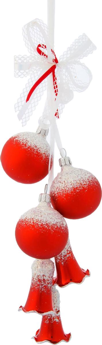 Украшение новогоднее подвесное Ёлочка Забава, 20 х 13,5 х 7 см2564860Украшение новогоднее подвесное Ёлочка, выполненное из стекла, отлично подойдет для декорации вашего дома и новогодней ели.Невозможно представить жизнь без праздников! Все их ждут и предвкушают, обдумывают, как проведут памятный день, тщательно выбирают подарки и аксессуары, ведь именно они создают и поддерживают торжественный настрой.