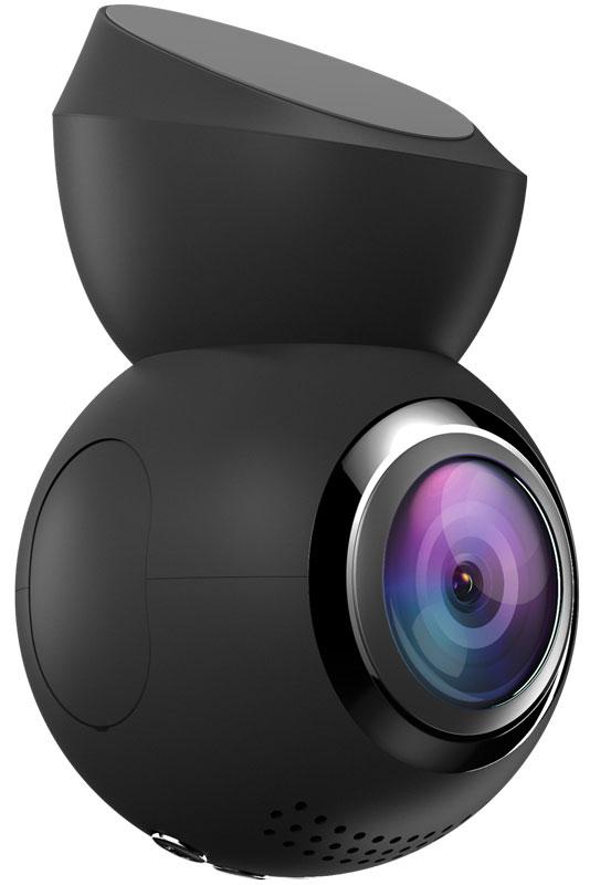 Navitel R1000, Black видеорегистраторR1000Navitel R1000 – многофункциональный автомобильный видеорегистратор в стильном компактном корпусе. Высокое качество съемки достигается благодаря современной 6-слойной стеклянной линзе. Navitel R1000 имеет широкий угол обзора 165°. Регистратор записывает Full HD видео с разрешением 1920х1080 и частотой кадров 30 fps, сохраняя его в формате MP4. В устройство встроен G-сенсор и чувствительная GPS-антенна, благодаря которой вы всегда точно будете знать, где была сделана запись.Камера регистратора Navitel R1000 соединена с кронштейном при помощи магнитного крепления. Это позволяет с легкостью поворачивать устройство на 360° для съемки внутри салона или сбоку от автомобиля. Кронштейн-держатель надежно крепится на лобовое стекло с помощью 3М-скотча, что обеспечивает жесткость конструкции и отсутствие вибрации.Видеорегистратор Navitel R1000 обладает цветным дисплеем 1.2 дюйма, чувствительным микрофоном для записи аудио и встроенной GPS-антенной. Поддерживаются microSD карты объемом 64 ГБ.Для мгновенной передачи данных с видеорегистратора на смартфон создано приложение Navitel R1000 Wi-Fi App для Android. С его помощью можно просматривать фото и видео с регистратора в режиме реального времени, изменять настройки устройства и форматировать SD-карту.