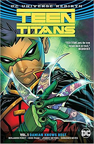 Teen Titans: Volume 1: Damian Knows Best tiny titans vol 01