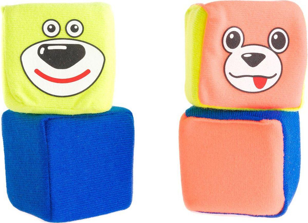Пластмастер Развивающая игрушка набор кубиков Друзья
