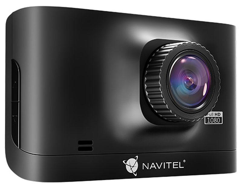Navitel R400, Black видеорегистраторR400Navitel R400 – компактный автомобильный видеорегистратор с функцией циклической записи и встроенным датчиком удара. Устройство включается при запуске двигателя и имеет режим записи на парковке. Поддерживаются microSD-карты объемом до 64 ГБ.В Navitel R400 установлена качественная стеклянная оптика, которая позволяет снимать видео с разрешением 1920х1080 FullHD при 30 кадрах в секунду. Для сжатия видео используется формат H.264, сохраняющий отличное качество изображения при малом объеме файлов. Для записи аудио в устройство встроен высокочувствительный микрофон.На обратной стороне Navitel R400 расположен TN-дисплей с диагональю 2.7. Для быстрой установки и надежной работы в автомобиле видеорегистратор комплектуется двумя различными креплениями и зарядным устройством от прикуривателя.