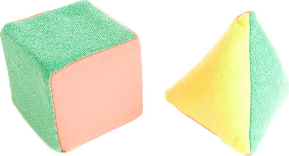 Пластмастер Развивающая игрушка Кубик и пирамидка