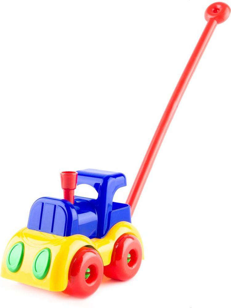Пластмастер Игрушка-каталка Паровозик Малышок плэйдорадо 12015 каталка паровозик малышок 1 15 р63146