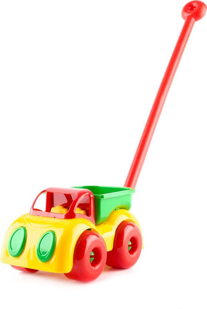 Пластмастер Игрушка-каталка Грузовик Малышок плэйдорадо 12015 каталка паровозик малышок 1 15 р63146