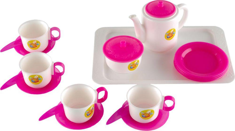 Пластмастер Игровой набор для кукол Набор чайный стоимость