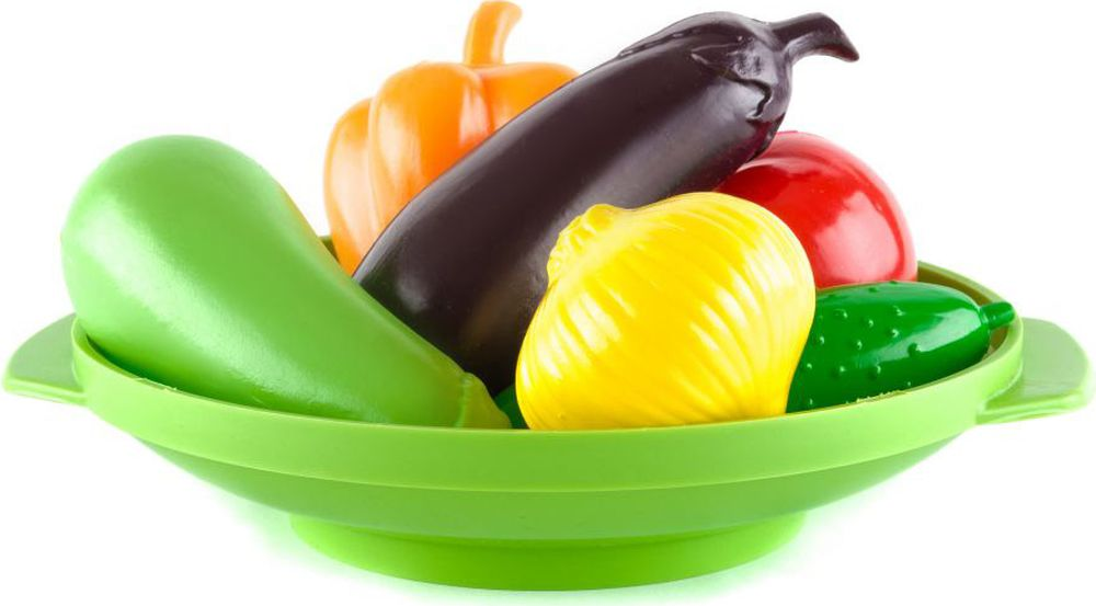 Пластмастер Игровой набор Овощное ассорти пластмастер игрушечный набор монтажник