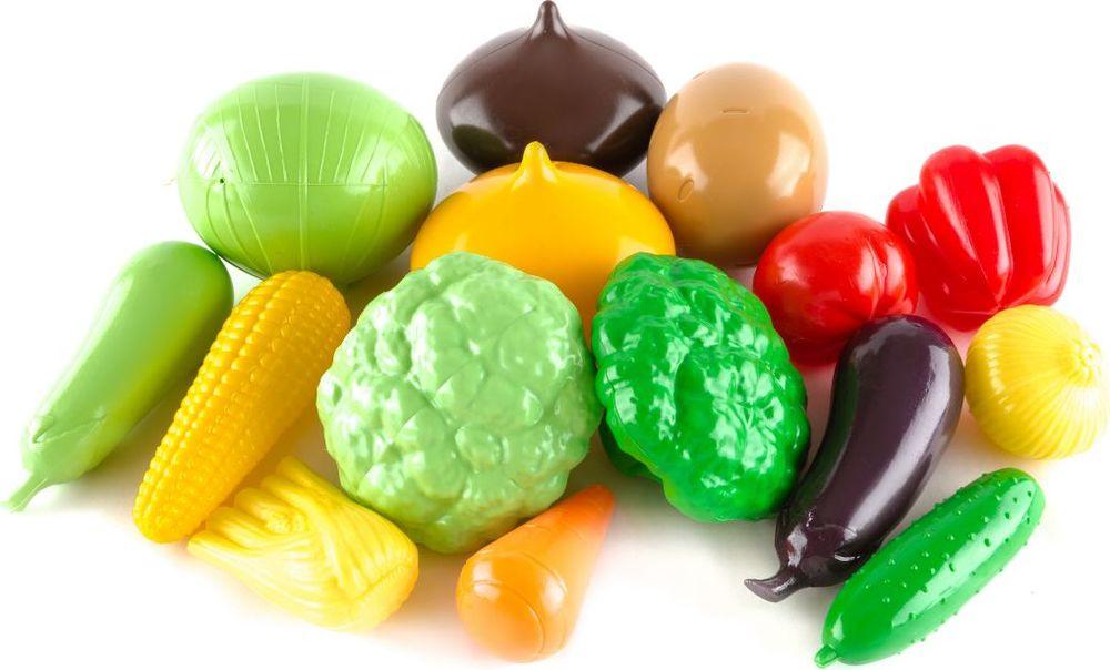 Фото Пластмастер Игровой набор Овощи большой