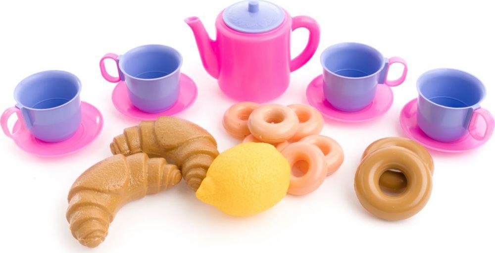 Пластмастер Игровой набор Чайный квартет ролевые игры лена набор посуды чайный набор two tea