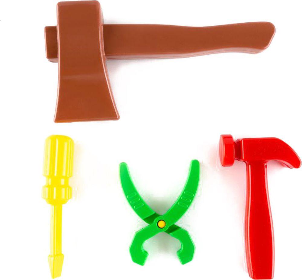 Пластмастер Игрушечный набор Монтажник пластмастер игрушечный набор валим лес