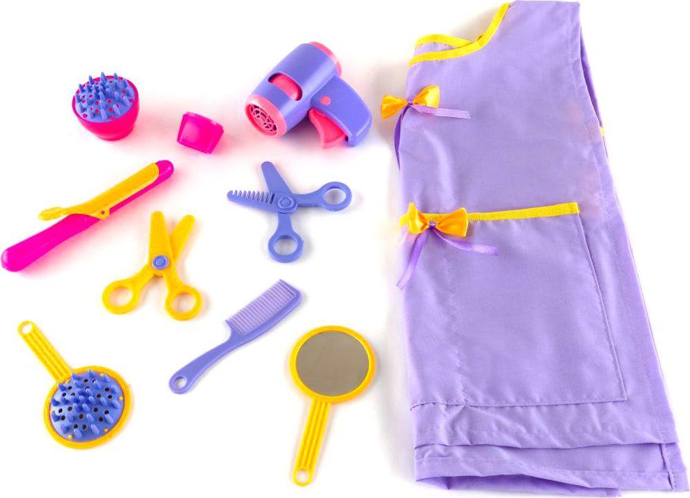 Пластмастер Игровой набор Парикмахер парикмахерский набор в чемоданчикесамо совершенство