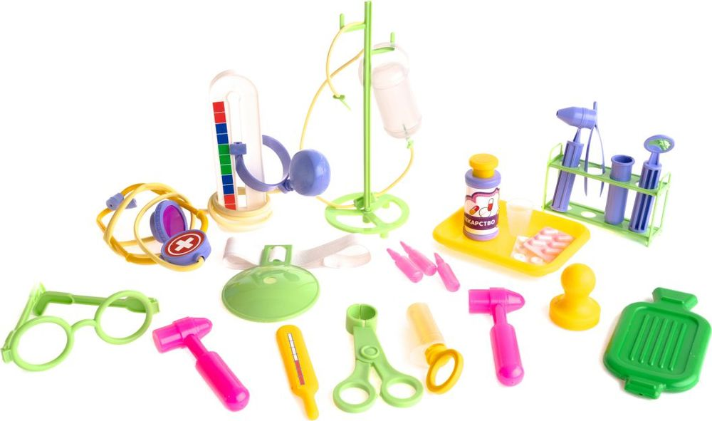 Пластмастер Игровой набор Неотложная помощь медицинские приборы