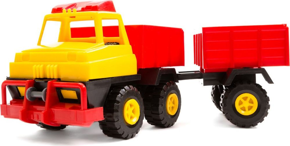 Пластмастер Грузовик с прицепом грузовик бусинка
